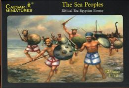Caesar Miniatures 1.72 scale H048 Biblical Era Sea Peoples (1208BC – 176BC) x 42